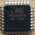ATMEGA48PA break microcontroller chip