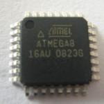 ATMEGA8-16AU extract avr mcu